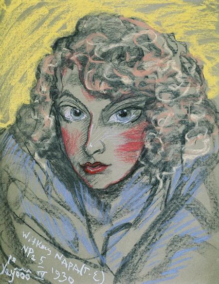 Portraet von Nena Stachurska 1930 Tatra Museum